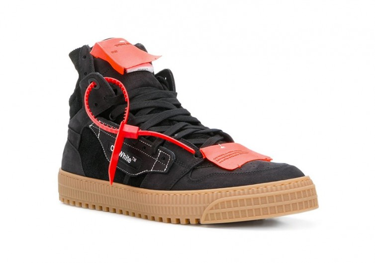 Off-White Logo Tag Sneakers