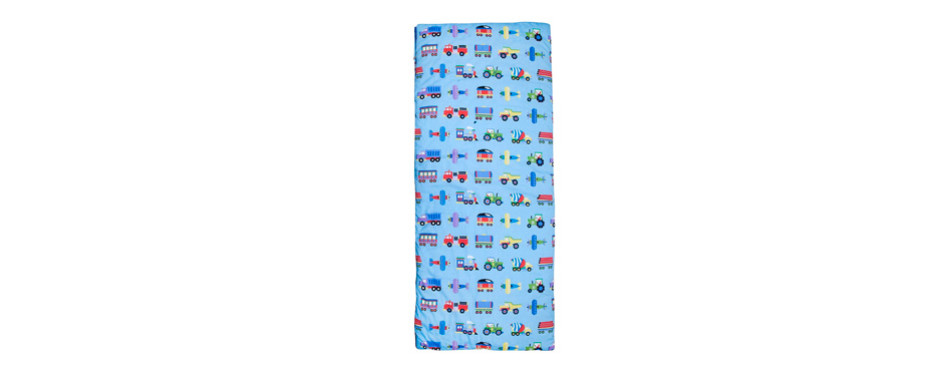 Olive Kids Trains, Planes & Trucks Kids Sleeping Bag