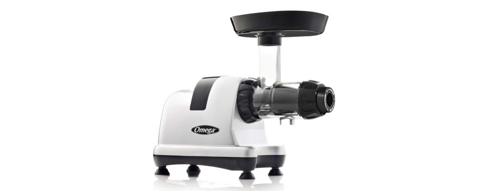 Omega J8006HDS Nutrition Center Masticating Juicer