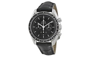 Omega Speedmaster Black Dial Chronograph Watch