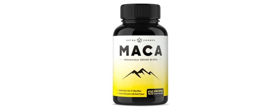 nutra champs organic maca root capsules
