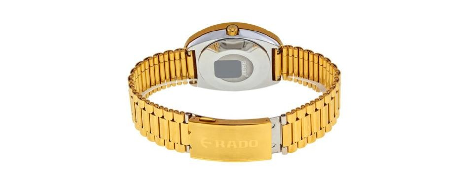 Original Golden Dial Rado Watch For Men