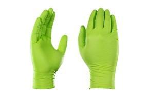 ammex gloveworks hd industrial green nitrile gloves