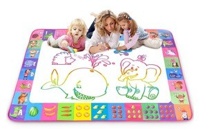 aqua magic mat kids painting writing doodle board toy