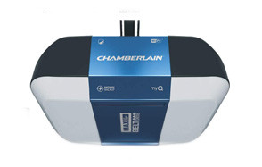 chamberlain b1381 bright led lighting garage door opener
