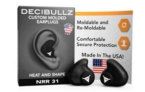 decibullz - custom molded earplugs
