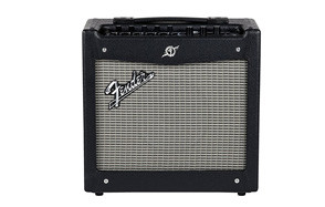 fender mustang i v2 20 watt 1x8 inch combo electric guitar amplifier