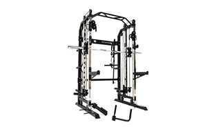 force usa monster g3 power rack -functional trainer & smith machine combo base