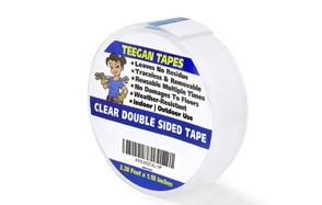 gaffer power new clear double sided nano tape