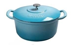 m cooker 7 quart enameled cast iron pot