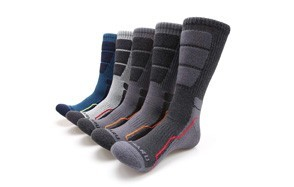mirmarumoisture wicking cushion crew socks