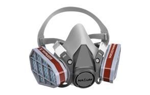 nasum m201 reusable half face respirator mask
