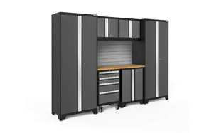 newage products bold 3.0-7 piece storage cabinet