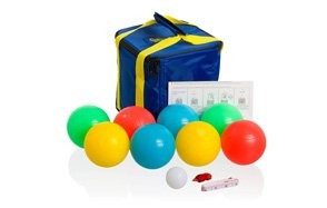 playaboule patented 4 color lighted bocce set