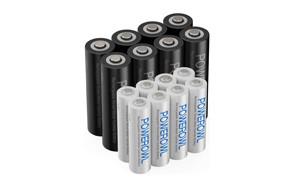 powerowl aa aaa rechargeable batteries