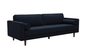 rivet aiden mid century sofa