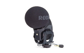 rode svmp stereo videomic compressor microphone