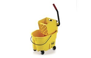 rubbermaid commercial wavebrake mop bucket