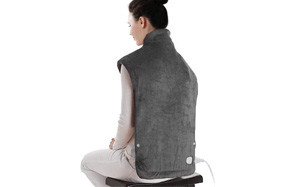 sable xxx large electric heating pad for neck and shoulders