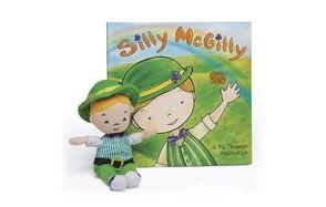 silly mcgilly irish book children's leprechaun toy