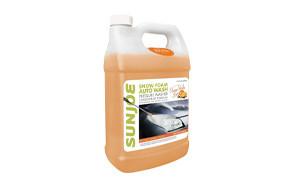 sun joe premium snow foam orange-vanilla scent car wash soap & cleaner