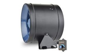 terrabloom ecmf 250 quiet 10 inch inline duct fan