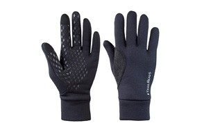 trailheads mens black touchscreen gloves