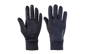trailheads mens black touchscreen gloves