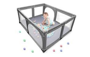 yobest indoor & outdoor baby playpen