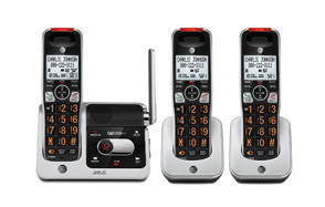 at&t crl82312 3 handset answering system