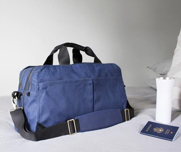 Pakt One Navy Travel Bag