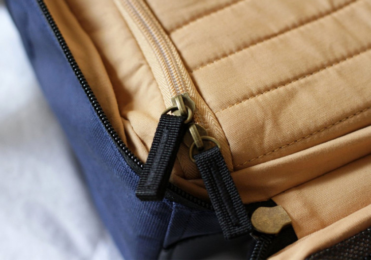 Pakt One Navy Travel Bag