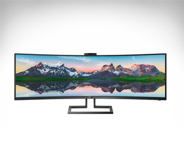philips 49 inch superwide curved led display