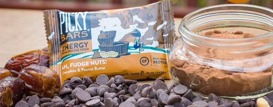 Picky Bars Real Food Energy Bars, Ah, Fudge Nuts!