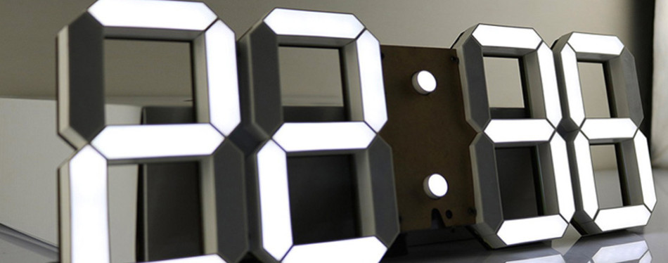 Pinty Multifunctional LED Wall Clock