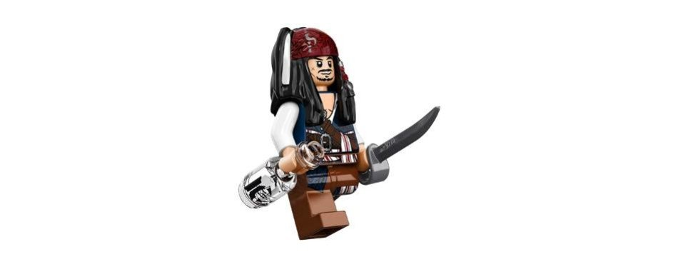Pirates of the Caribbean Silent Mary Lego Set