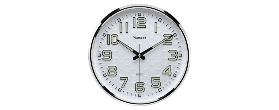 Plumeet Wall Clock