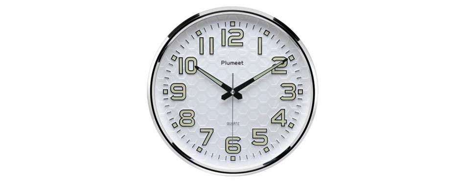 Plumeet Wall Clock