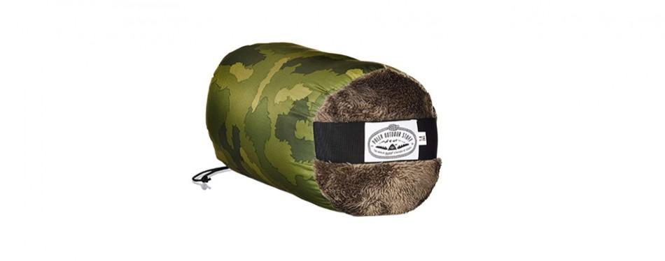 Poler Men's the Shaggy Napsack Wearable Sleeping Bag