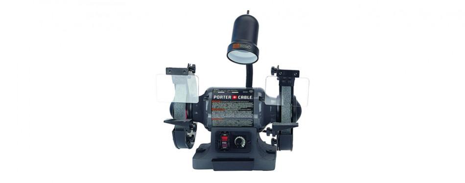 porter cable pcb575bg 8-inch bench grinder