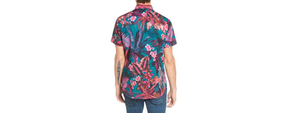 Premium Tropical Slim Fit Shirt, by BONOBOS