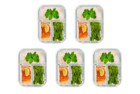 Prep Naturals 5 Pack Glass Meal Containers