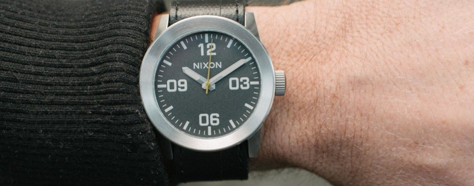Private Leather Watch by Nixon
