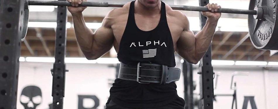 ProFitness Genuine Leather Workout Belt