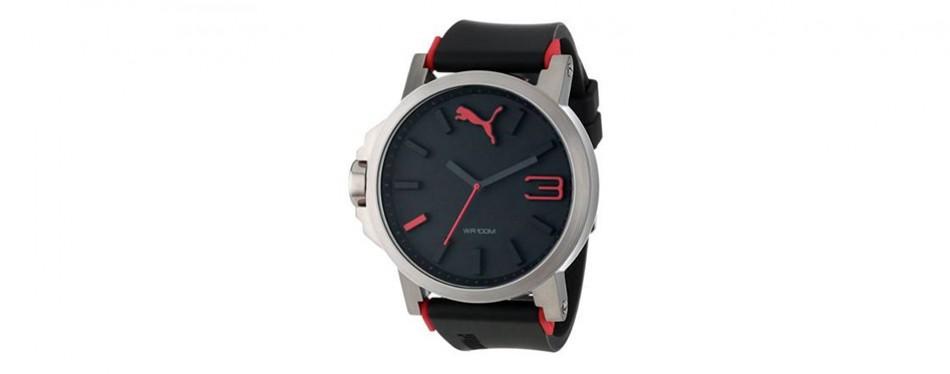 Puma Ultrasize Sports Left Handed Watch