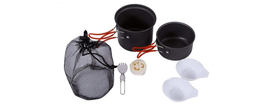 REDCAMP Aluminum Mess Kit