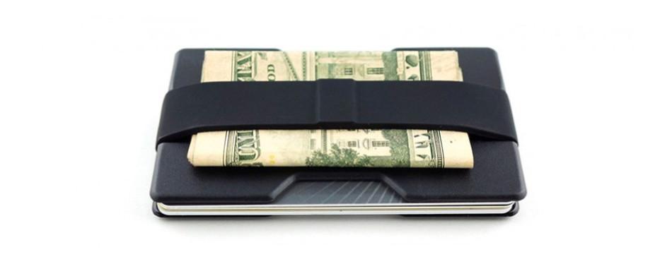 Radix One Black Steel RFID Wallet