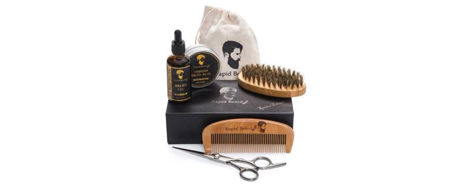 Rapid Beard Beard Grooming & Shaving Kit For Men