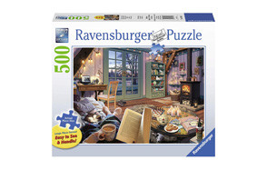 Ravensburger - Cozy Retreat 500 Piece Large Format Puzzle
