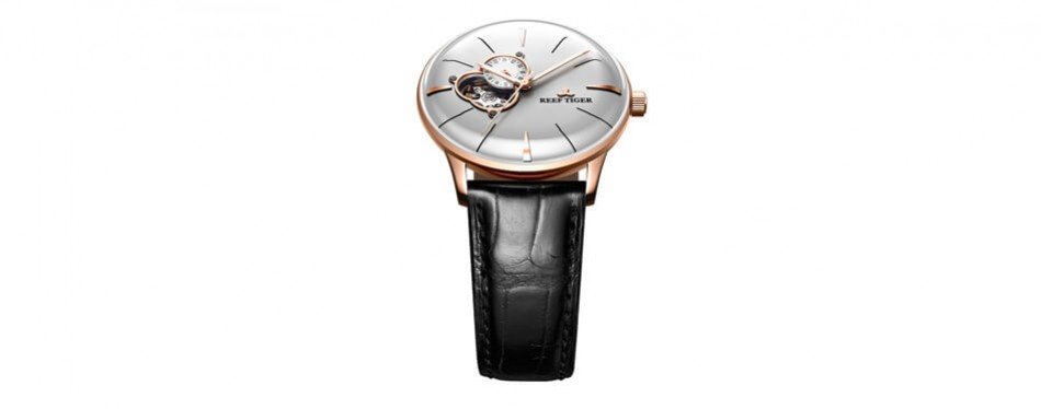 Reef Tiger Luxury Automatic Rose Gold Watch